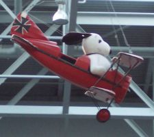 snoopy plane MOA by JillyFoo