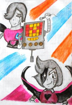 Mettaton by AutumnLeaf1230