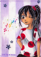 ACEO .:Rainbow Melody:. by PinkPoink