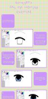 SAI eye coloring tutorial by Hermy87