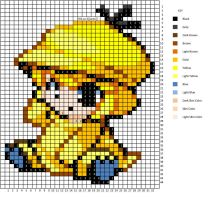 Moemon Psyduck Pattern by H3LLoK66aren99