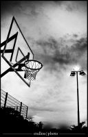 late night basketball by theendlessphoto