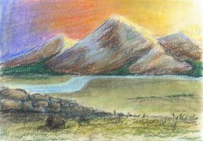Hills, mountains by erzsebet-beast