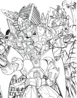 G1 Decepticons poster 3 of 3 by Venom20XX