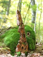 Mossy Mansion by ForestDwellerHouses