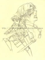 Unfinished Business - Corporal Rivaille by mekanikarutenshi