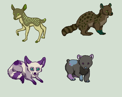 Adoptables Two ~One Left~ by MochaMoss