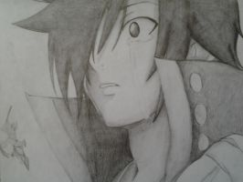 Zeref Crying by Eruzaah