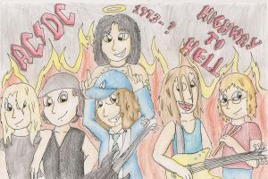 We're on a Highway to Hell!! by Azulona