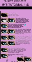 Imvu (or any) Eye tutorial by MusicIzAwzomerz