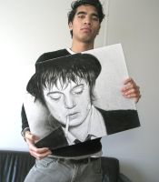 Me and my Pete Doherty drawing by Ruubski