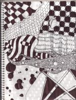Zentangles by Scarecrow93