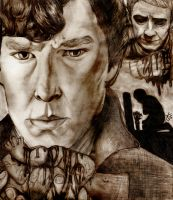 You took my heart when you left... (Sherlock BBC) by KJNeely