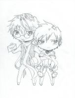 Tsukishima Shizuo and Hachimenroppi-Request by MihaelLawliet