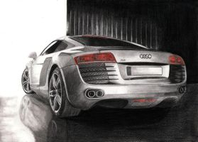 Audi R8 by tajus
