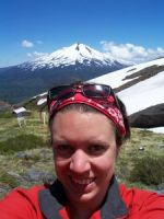 Me in Chile, with a volcanoe.. by Hanasu