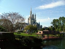 Disney World Castle by zEeBs