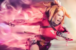 Demon's Edge by PinkJusticeCosplay