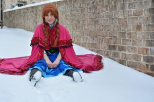 sitting pretty :frozen by Iris-Iridescence
