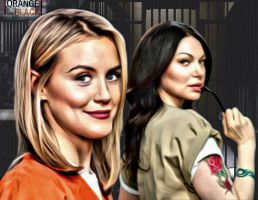 Oitnb Piper and Alex by GibsonLost