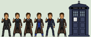 The 10th Doctor by Stuart1001