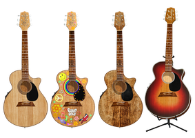 Guitar PNG Stock by Roys-Art