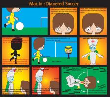 Diapered Soccer by diaperedmac