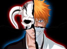Ichigo and Hichigo by benderZz