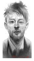 Thom Yorke,king of melancholia . by ali-kiani-amin
