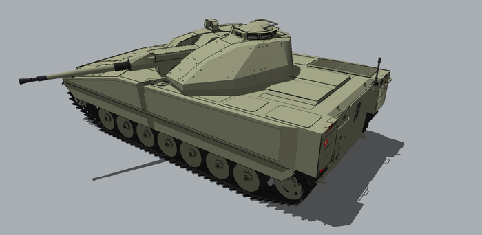 Sweden 's CV9040 by louielikespie
