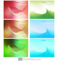Gradient Mesh Background Vector Illustration by 123freevectors