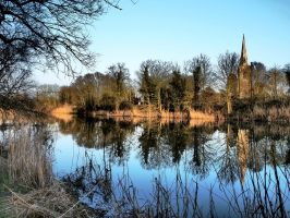 Late Afternoon - River Ouse Cambridgeshire by davepphotographer