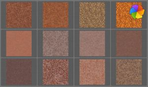 Seamless rust textures. by plaintextures
