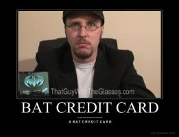 Bat credit card by Lord-Enonymous
