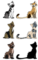 Cat Adoptables: Closed by smudge-92