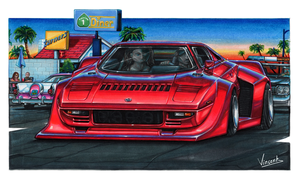 Lancia Stratos Street Racer by vsdesign69