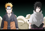 Naruto and Sasuke v1.0 by BoruChin