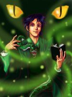 Tom Marvolo Riddle by claudiakat