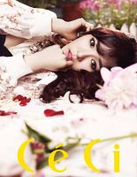 Tiffany on Ceci August Issue 2013 by LuannaMaria