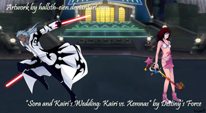 Commish: Kairi vs. Xemnas by x-Destinys-Force-x