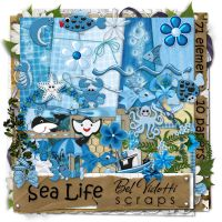 Scrapbooking Blue v23 by rakanksa