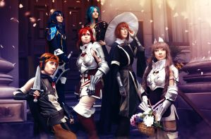 Fire Emblem Awakening ~ Heroes by dangerousladies