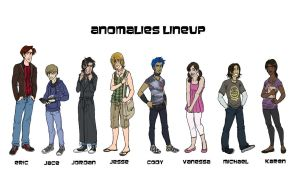 Anomalies Lineup by EmpressFunk