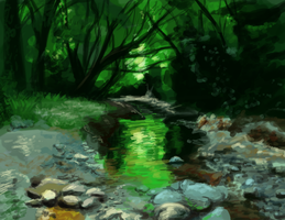 1 hour Speedpaint by Neko-Onigiri