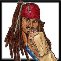TeeHee Jack Sparrow by LaSirenOfEire