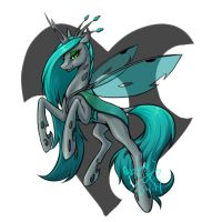 queen chrysalis by begasuslu