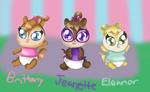 Baby Chipettes by Bokeol