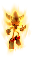 Epic Super Shadow (with Aura) by mateus2014
