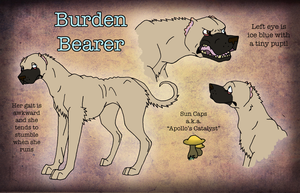 Lost-Athens: Burden Bearer Ref by AmiliaLongTail