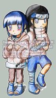 Hinata and Neji by BettyKwong
